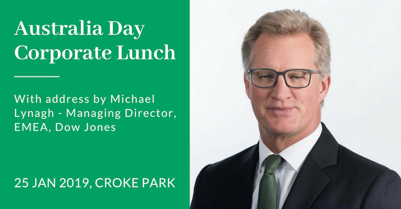 2019 Australia Day Corporate Lunch