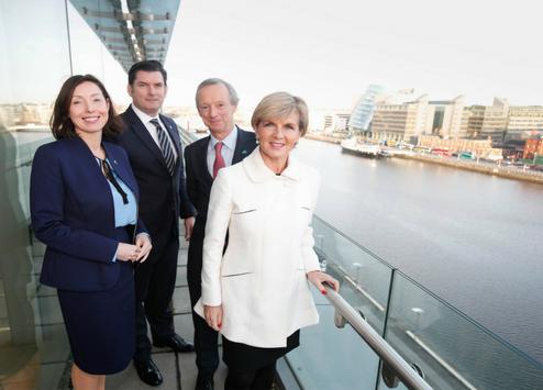 Julie Bishop briefs IACC Members in Dublin